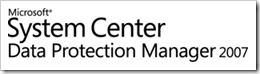 Microsoft System Center Data Protection Manager 2007 Management Pack für Microsoft Operations Manager 2005