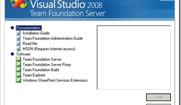 Team Foundation-Installationshandbuch für Visual Studio Team System 2008