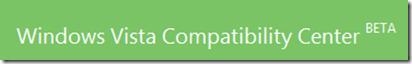 Vista Compatibility Center Beta