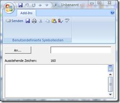 SMS Addin für Outlook 2003 und 2007