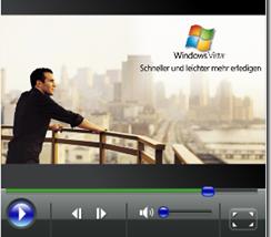 Video über das Windows Media Center