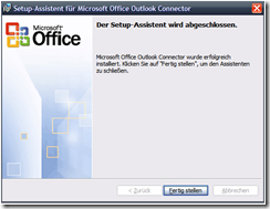 Office Outlook Connector 12.1 Beta erschienen