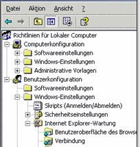Gruppenrichtlinieneinstellungs Client Erweiterungen für XP erschienen