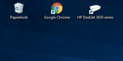 Symbole Auf Desktop Verschwunden