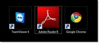 Desktop Symbole Vista gross