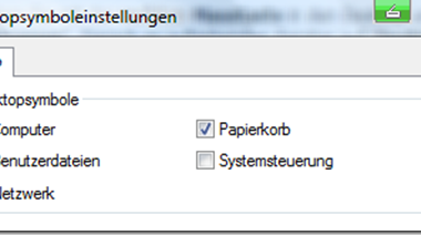 """Desktop Icon """"Computer"""" auf dem Vista Desktop anzeigen"""