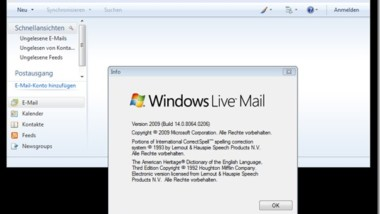 Windows Live Mail Update