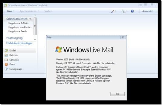 Live Mail Update 2009 14080640206