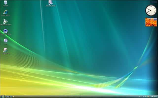 Vista Bildschirm Anzeige Drehen Anzeige Bildschirm Darstellung
