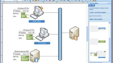Office Visio 2007 WBS Modeler verfügbar