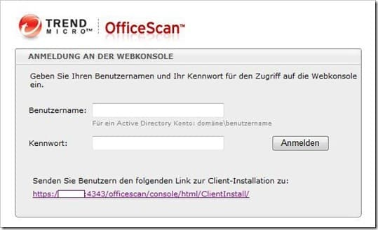 TrendMicro OfficeScan 10