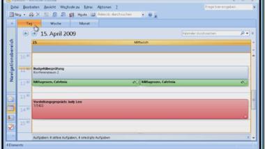 Video Demo´s für Outlook Kalender, aktivieren von geblockten Makros und Access 2007