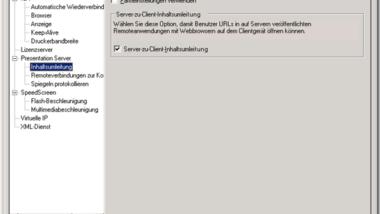 Internet-Seiten (URL) über Citrix Server mit lokalem Browser öffnen