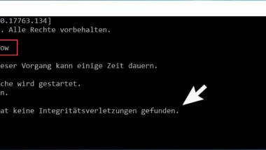 Windows Systemdateien prüfen und reparieren