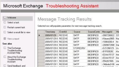 Exchange 2007 Export Message Tracking Results