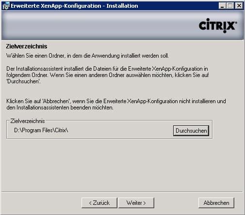 xenapp-installationsverzeichnis