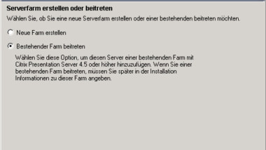 Citrix XenApp 5.0 Installation Erfahrungsbericht Teil 3