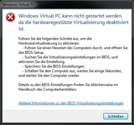 hardware-virtualisierung