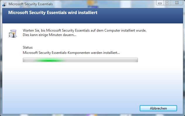 security-essentials-installation