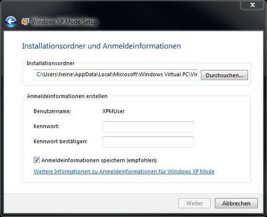 xp-mode-windows-7-installationsordner