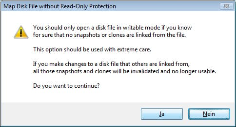 vmware-map-disk-file-read-only