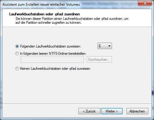 volume-laufwerksbuchstabe