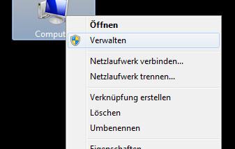 Virtuelle Festplatte (VHD) unter Windows 7 erstellen