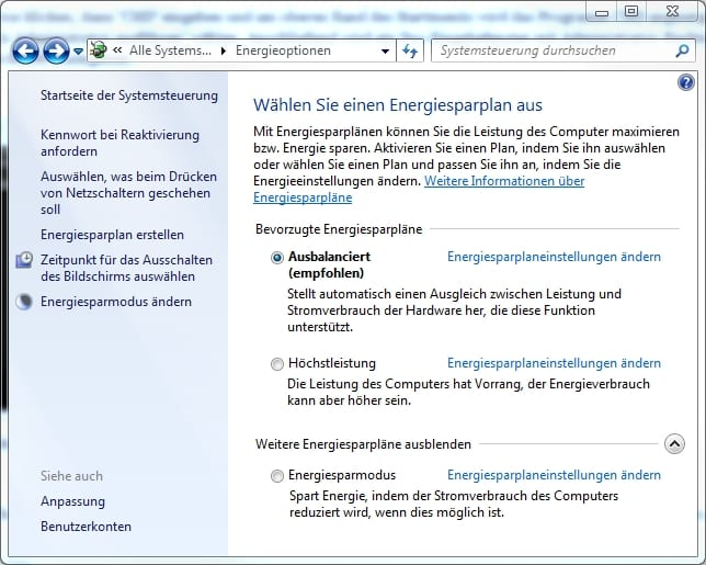 energieoptionen-windows-7