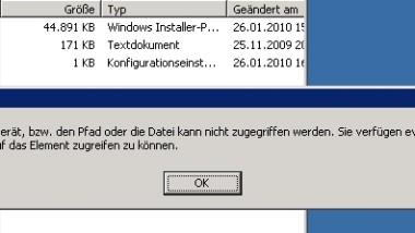 Zugriff auf geblockte Dateien erhalten