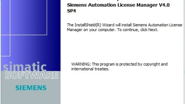Siemens Automation License Manager V4.04 (SP4)