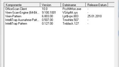 TrendMicro OfficeScan 10 SP1 Installationsbericht und auftretende Probleme