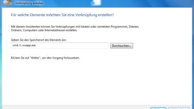 Desktop Verknüpfung und Icon in der Taskleiste für Windows-Updates