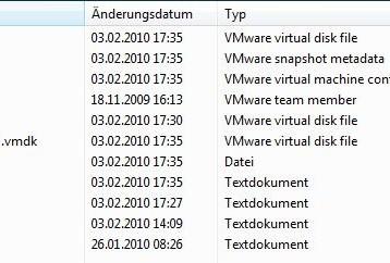 VMWare – virtuelle Maschine Festplattenbedarf wächst permanent ….