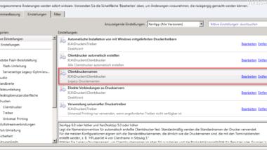 Citrix Session ID aus Druckername entfernen