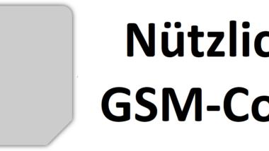 Nützliche Handy (Smartphone) GSM Code´s