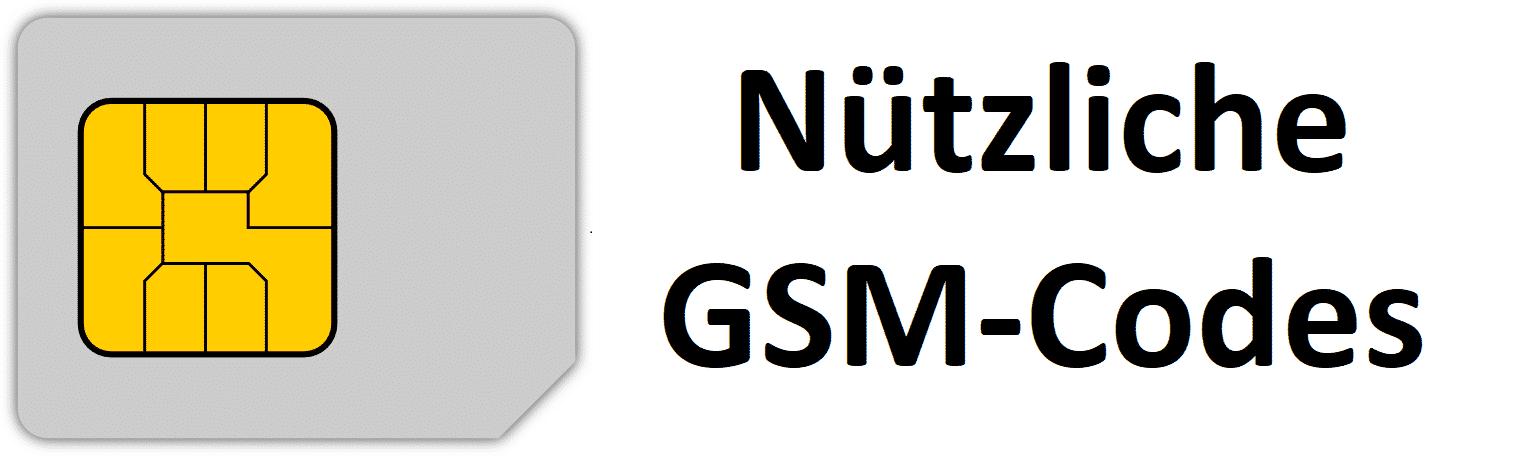 Nützliche Handy Smartphone GSM-Codes