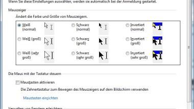 Fenster durch Zeigen mit der Maus aktivieren in Windows 7