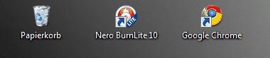 Kleine Desktop Symbole