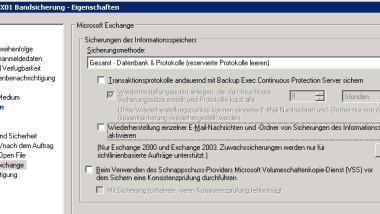 Symantec Backup Exec Fehlermeldung 0xe0008488 – Zugriff verweigert