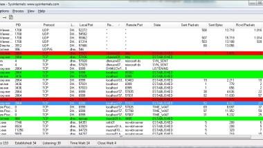 TCPView Version 3.02 verfügbar – Download