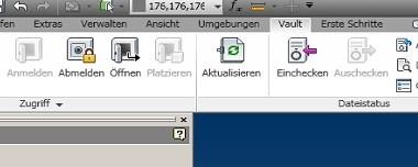 """Vault """"Reiter"""" fehlt im Inventor 2011 nach SP1 Installation"""