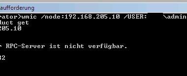 Bei Windows 7 die Firewall für WMIC Remote Abfragen konfigurieren