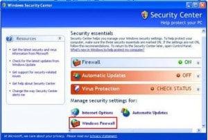 Die richtige Firewall für Windows 7