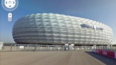 Google Street View – 6 Sehenswürdigkeiten und 11 Fußballstadien in Deutschland