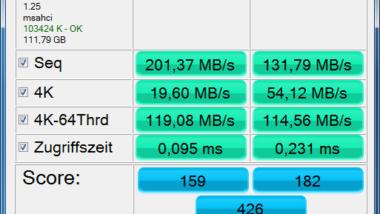 OCZ Vertex 2 SATA II 3.5 120GB Solid State Drive Testbericht
