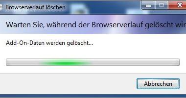 Per Befehl den Verlauf vom Internet Explorer (IE) löschen