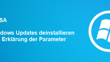 Windows Updates deinstallieren mit WUSA.EXE
