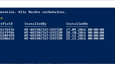 Windows Updates übersichtlich anzeigen