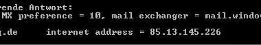 Mehrere Domains beim Exchange Server 2003 einrichten