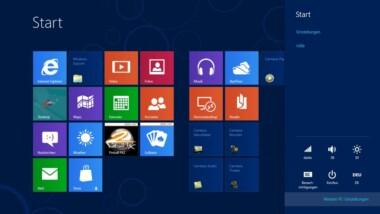 Windows 8 beschleunigen und auffrischen